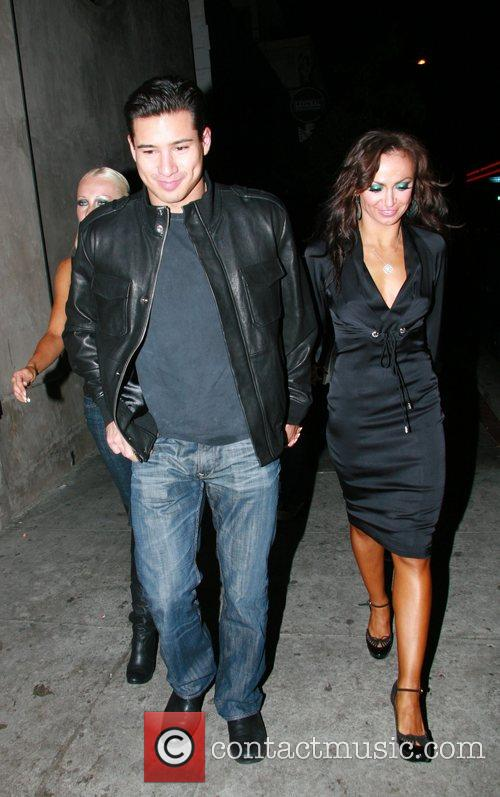 Mario Lopez and Karina Smirnoff 9