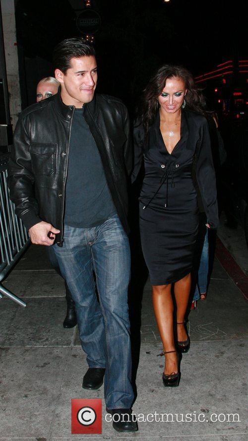 Mario Lopez and Karina Smirnoff 1