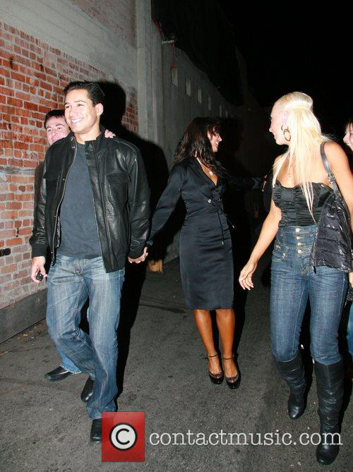 Mario Lopez and Karina Smirnoff 7