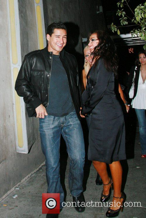 Mario Lopez and Karina Smirnoff 11