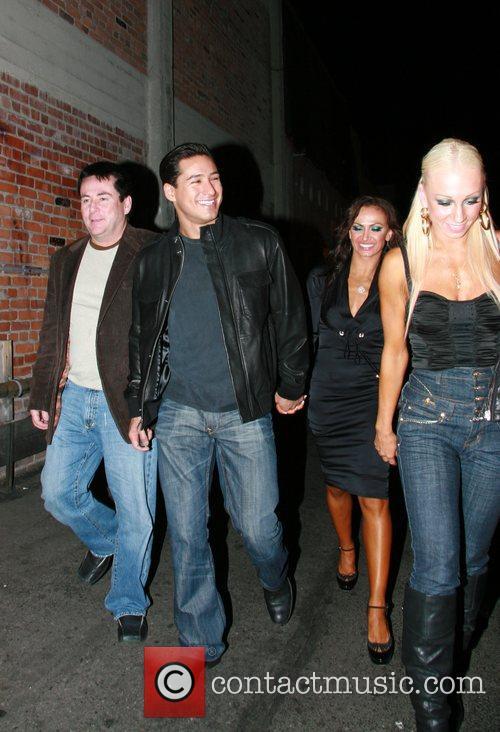 Mario Lopez and Karina Smirnoff 2