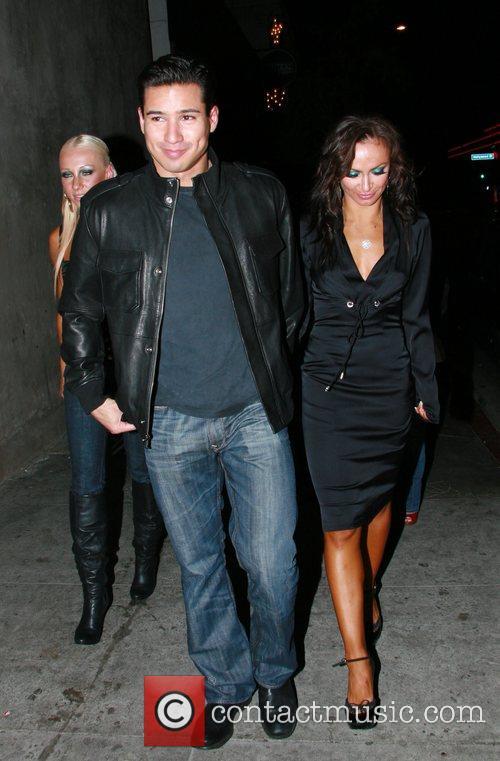 Mario Lopez and Karina Smirnoff 6