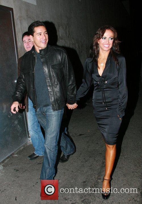 Mario Lopez and Karina Smirnoff 3