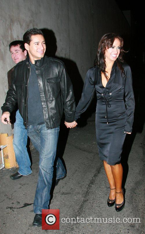 Mario Lopez and Karina Smirnoff 8