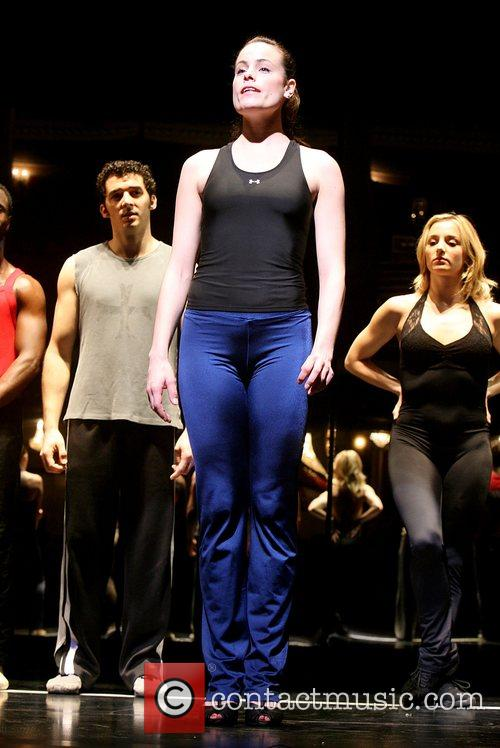 Heather Parcells Is part of the chorus line...