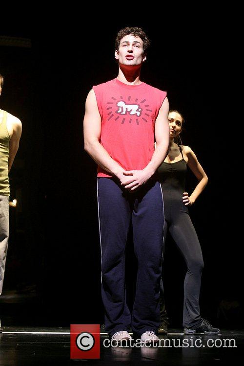 Joey Dudding Is part of the chorus line...