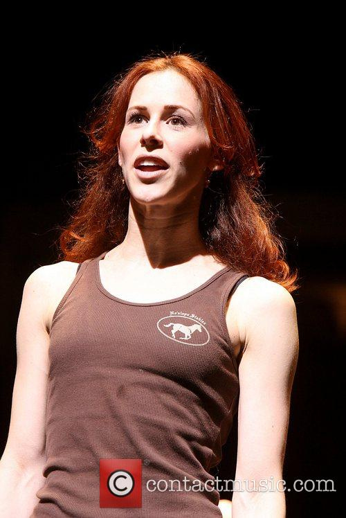 Melissa Lone Is part of the chorus line...