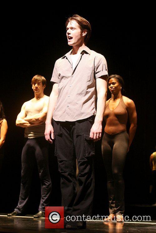 Michael Berresse Is part of the chorus line...