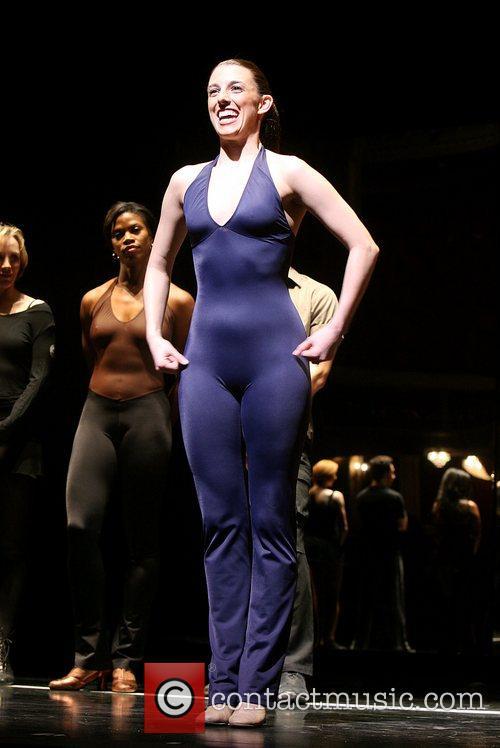 Nadine Isenegger Is part of the chorus line...
