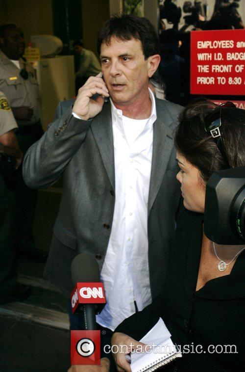 Mark Kaplan Kevin Federline's lawyer, outside the LA...