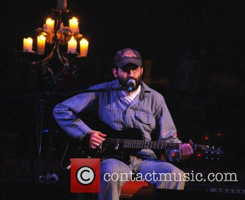 Mark Oliver Everett from The Eels performing live...
