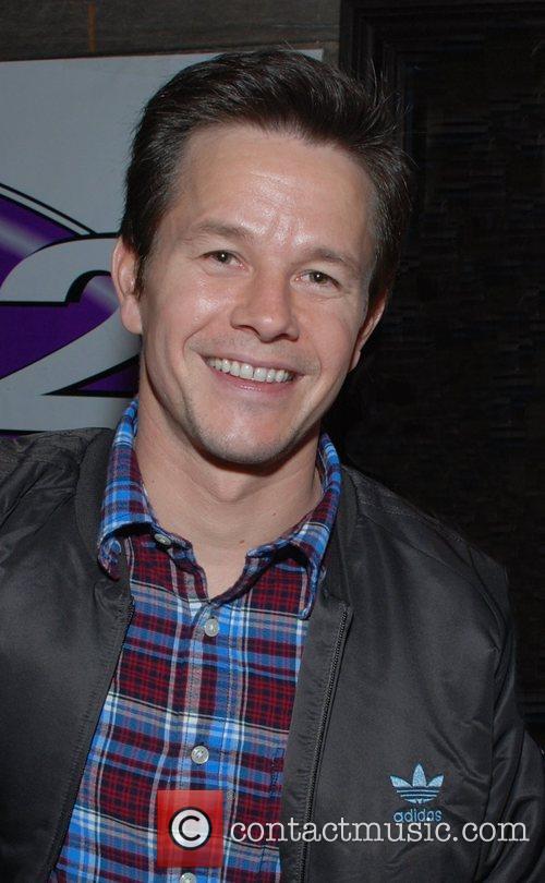 Mark Wahlberg at Q102 and Q102 and DJ...
