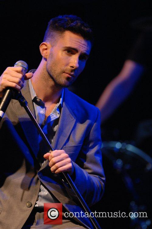 Adam Levine of Maroon 5 House of Blues...