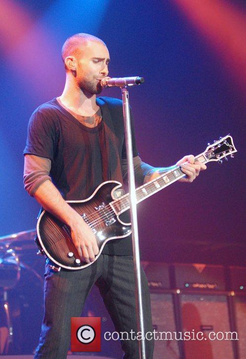Adam Levine and Maroon 5 16