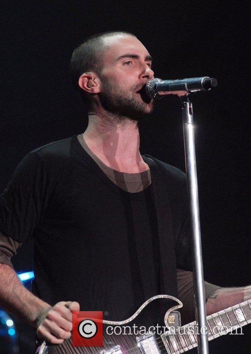 Adam Levine and Maroon 5 12