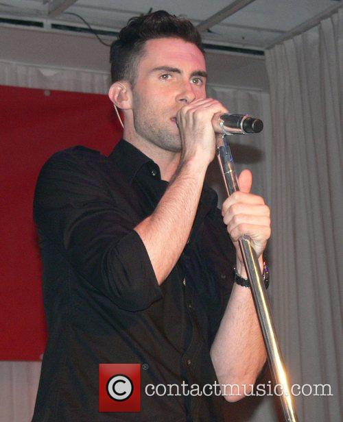 Maroon 5 performing live at the Bangaluu Club