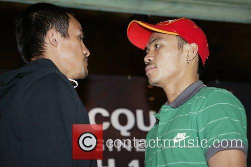 WBC World Super Feather weight Champion Juan Manuel...