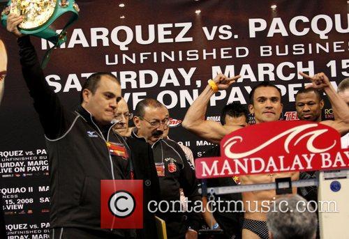 Juan Manuel Marquez Juan Manuel Marquez and Manny...
