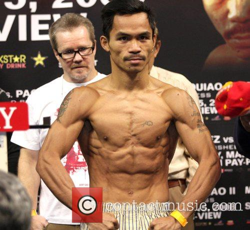 Juan Manuel Marquez and Manny Pacquiao Weigh-ins for...