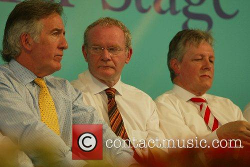 Martin McGuinness and Peter Robinson (r) 41st Annual...