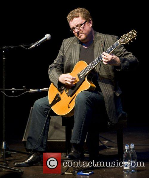 Jazz guitarist Martin Taylor performing live at The...