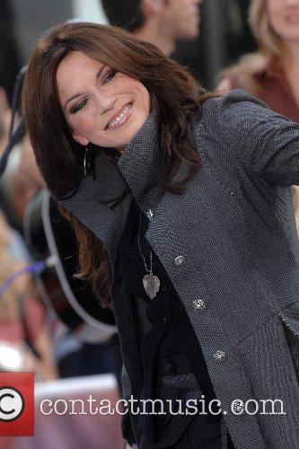 Martina McBride  performing at 'The Today Show...