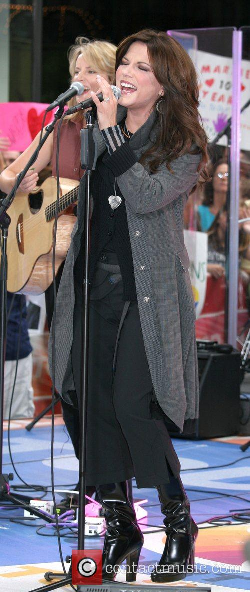 Performing at 'The Today Show 2007 Summer Concert...