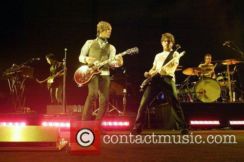 Matchbox 20 performing live in concert at Sydney...