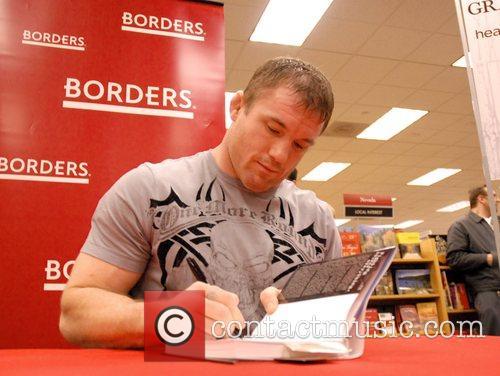 UFC fighter Matt Hughes promoting his new book...