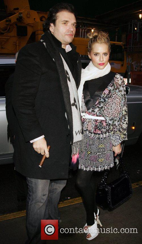 Brittany Murphy and Matthew Williamson 1