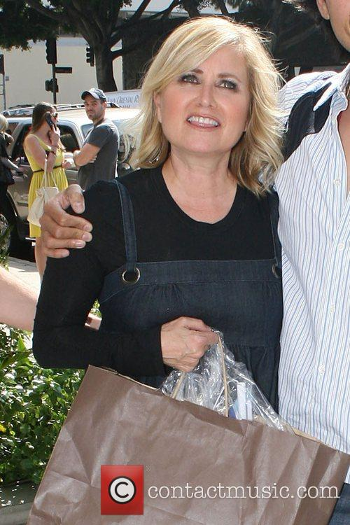 Maureen McCormick shopping at the Trendy Robertson Boulevard...