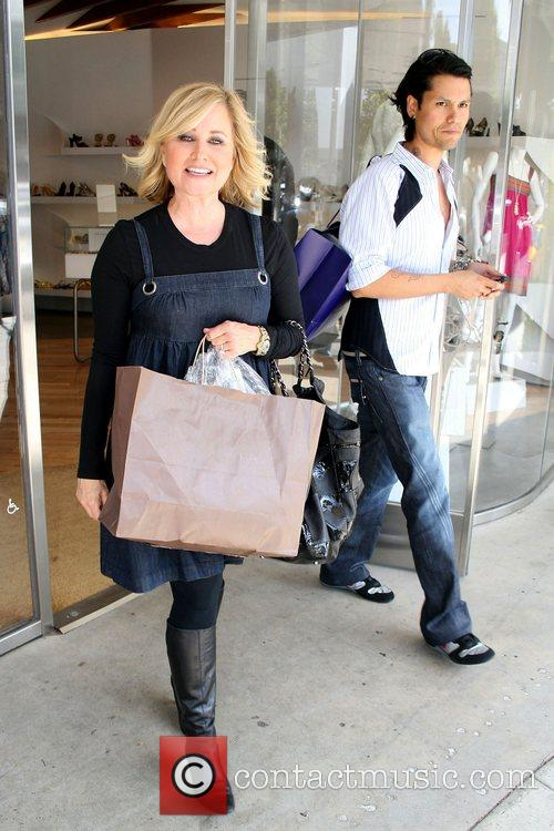 Maureen McCormick shopping at the Trendy Robertson Boulevard