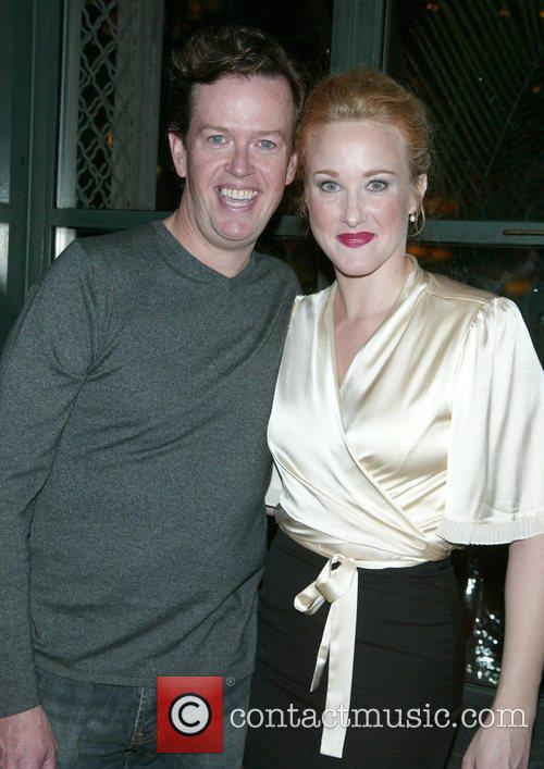 Dylan Baker and Katie Finneran Opening night after...