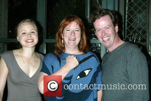 Alison Pill, Theresa Rebeck and Dylan Baker Opening...