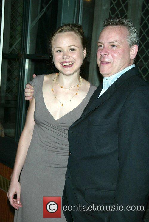 Alison Pill and Doug Hughes Opening night after...