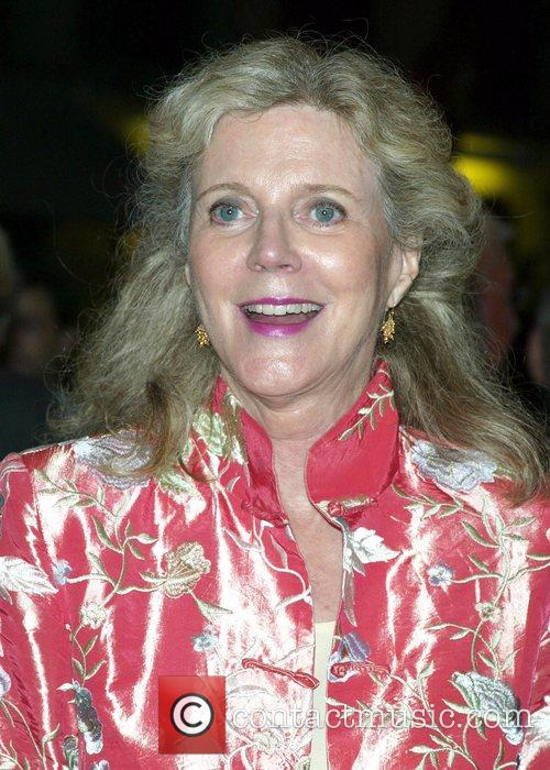Blythe Danner Opening night of the new Broadway...