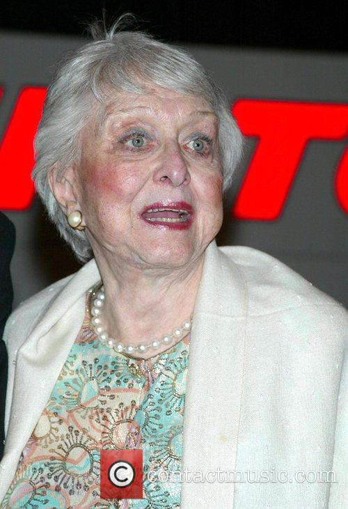 Celeste Holm Opening night of the new Broadway...