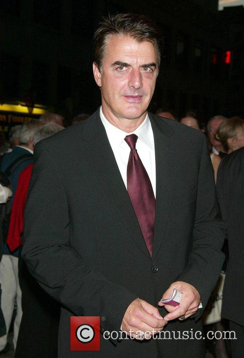 Chris Noth Opening night of the new Broadway...