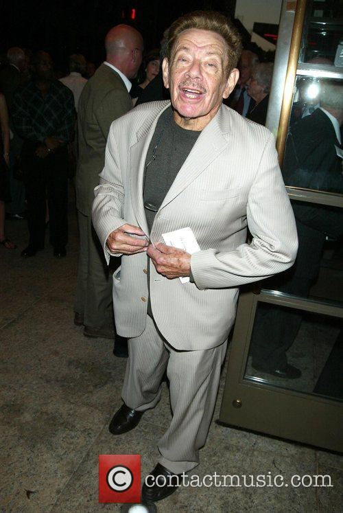 Jerry Stiller Opening night of the new Broadway...