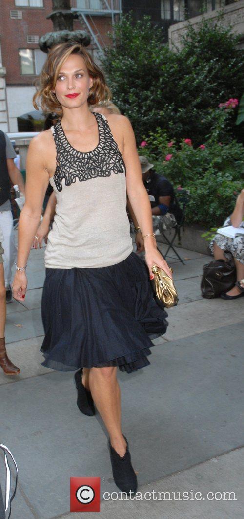 Molly Simms Mercedes-Benz Fashion Week New York Spring...