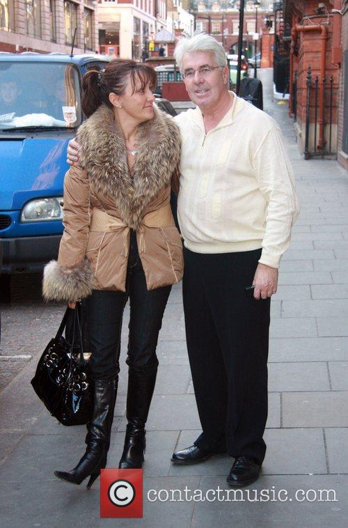 Jo Westwood and PR guru Max Clifford chat...