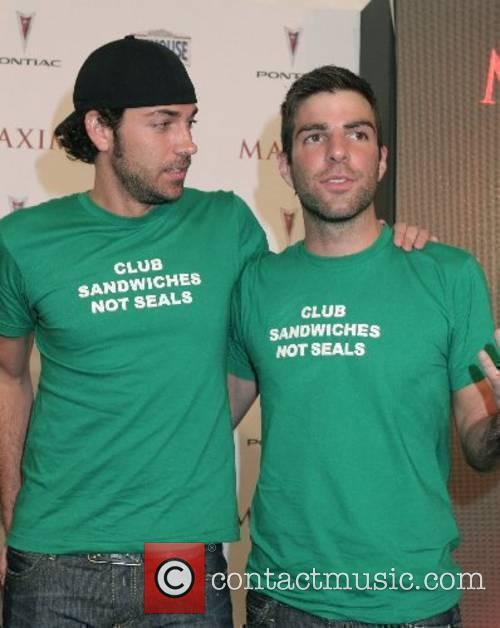 Zachary Quinto and guest Maxim's 8th Annual Hot...