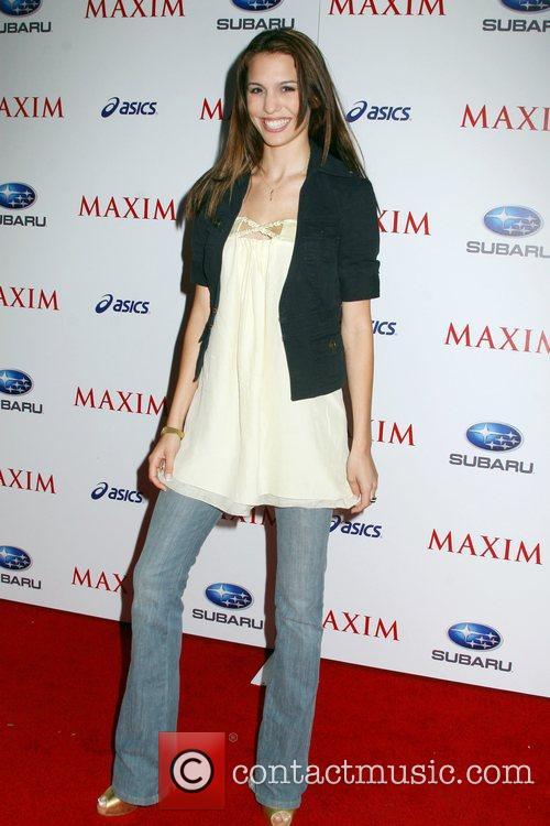 Christy Carlson Romano Maxim Magazine's ICU Event- Arrivals...