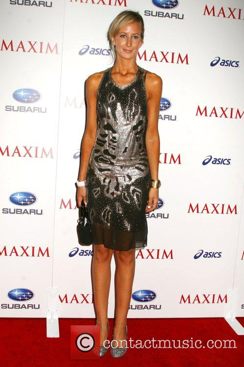 Lady Victoria Hervey Maxim Magazine's ICU Event- Arrivals...