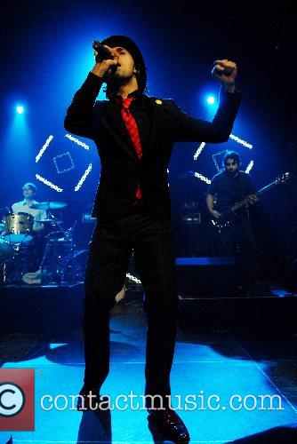 Maximo Park performing live at at Doncaster Dome...