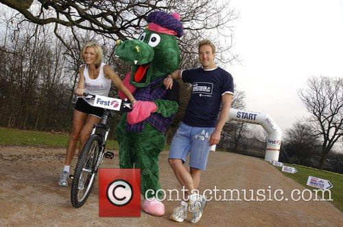 Nell McAndrew and Ben Fogle launch the First...