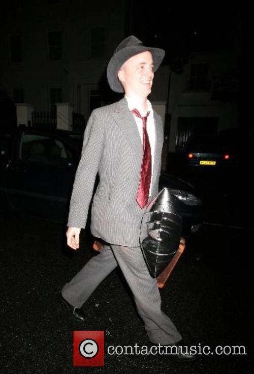 Leaving Sir Paul McCartney's 65th Birthday party held...