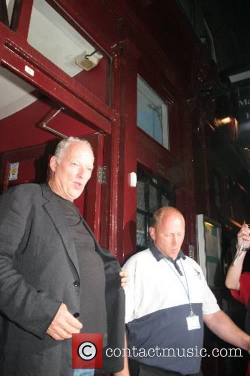 Leaving Mango restaurant after watching Paul McCartney play...
