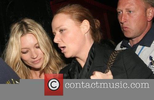 Kate Moss and Stella McCartney Leaving Mango restaurant...