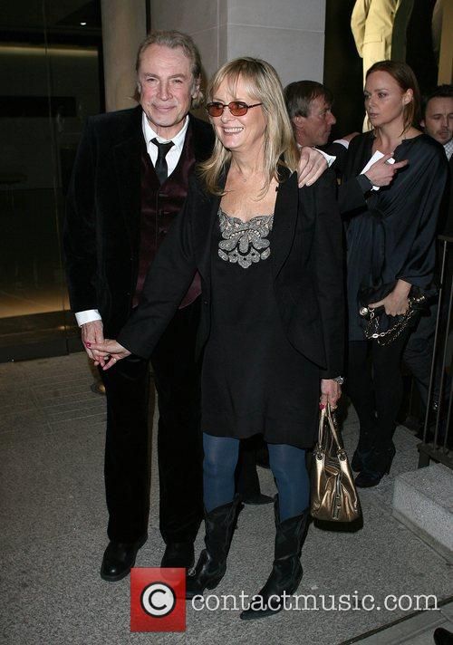 Leigh Lawson and Twiggy attend the Linda McCartney...
